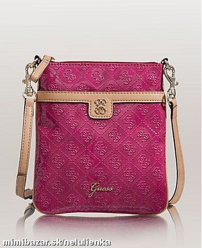 GUESS REIKO CROSSBODY KABELKA 3 FARBY - IHNED !!!