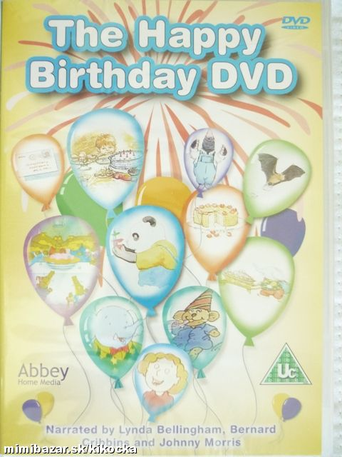 Anglické DVD THE HAPPY BIRTHDAY