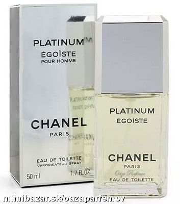 CHANEL EGOISTE PLATINUM EDT 50 ML ORIGINÁL