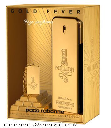 PACO RABANNE-1 MILLION ♥PERFEKTNÝ SET NA VIANOCE♥♥