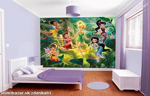 WALLTASTIC® Fototapeta DISNEY FAIRIES (41325)