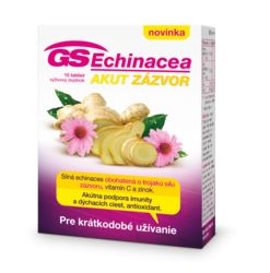 GS Echinacea Akut zázvor- 15 tbl.