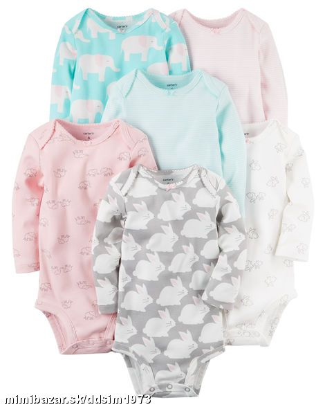 Carters 6 set body - 9M, 24M