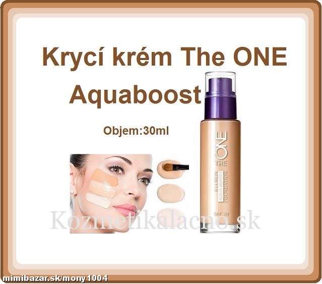 Krycí krém The ONE Aquaboost