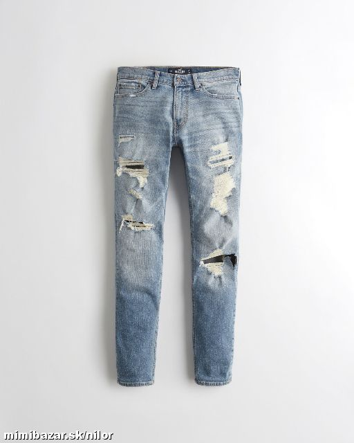 STRETCH SKINNY JEANS HOLLISTER W33/32 a W36/32