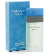 DOLCE AND GABBANA - LIGHT BLUE edt 100 ml tester