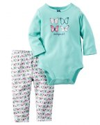 Carters - 2 set - body, leginy - 9M(68)