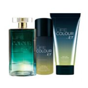 4e6a5fd461 Set Avon Life Colour for Him - Toaletná voda Avon Life Colour for Him (75 ml)  - - Telový sprej ... viac. CENA 17