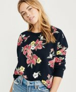 FLORAL MIKINKA ABERCROMBIE&FITCH vel.S/M