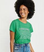 ABERCROMBIE&FITCH LOGO TRICKO vel.XS/S a S/M a M/L