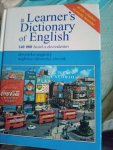 A learner´s dictionary of English sk-ang,ang-sk
